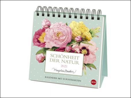 Marjolein Bastin: Schönheit der Natur Premium-Postkartenkalender 2021