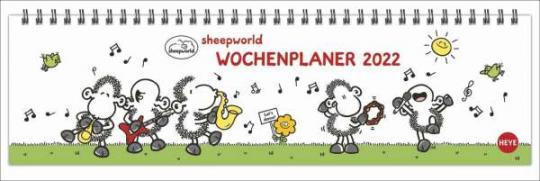 Sheepworld Wochenquerplaner 2022