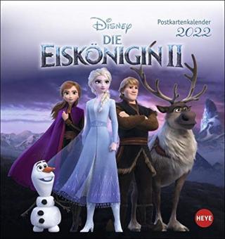 Disney - Die Eiskönigin II 2022 Postkartenkalender