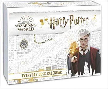 Harry Potter Wizarding World Tagesabreißkalender 2022