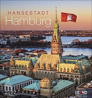 Hansestadt Hamburg Postkartenkalender 2022